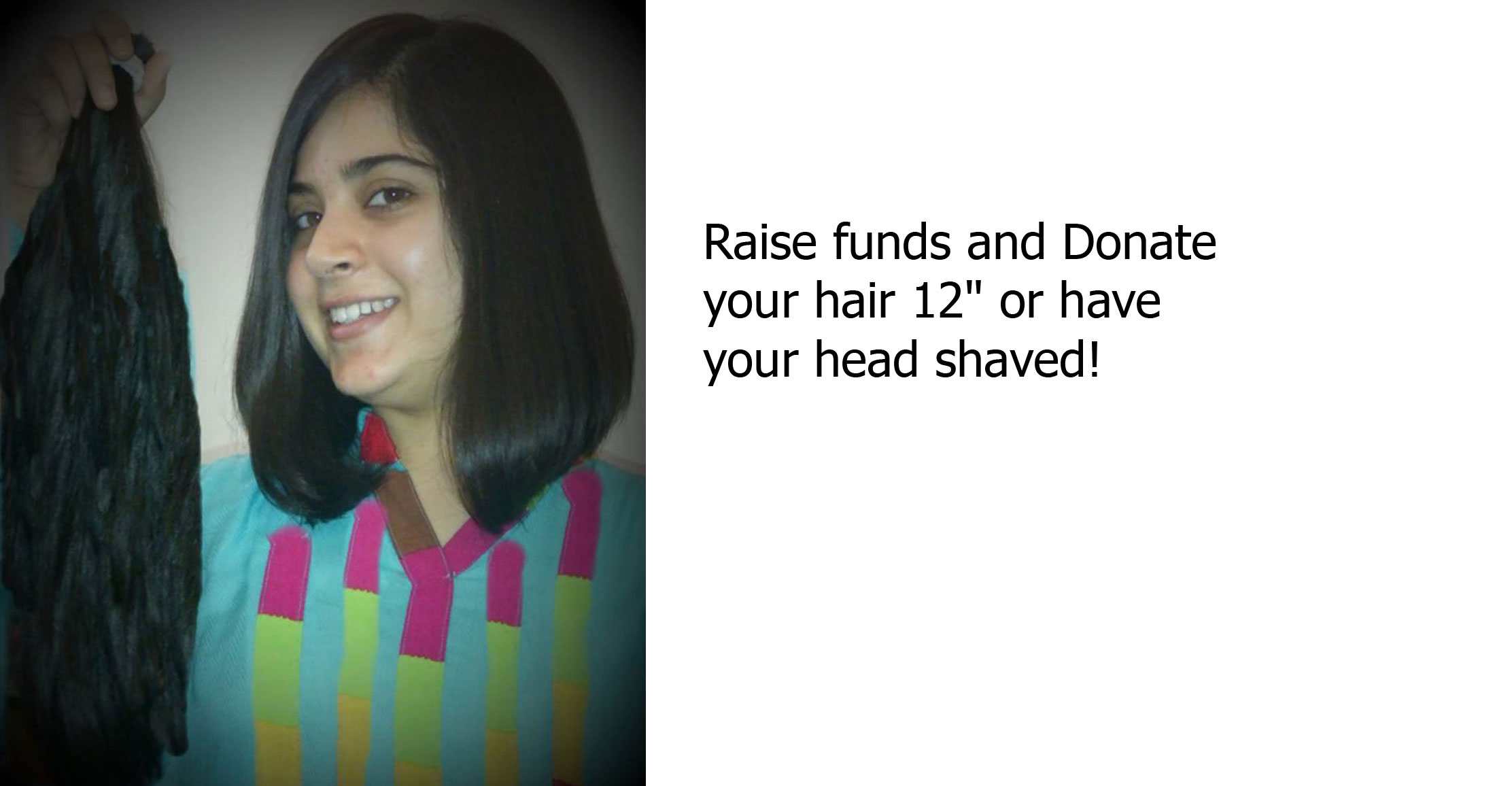 Be a Hair Donor or Head Shaver